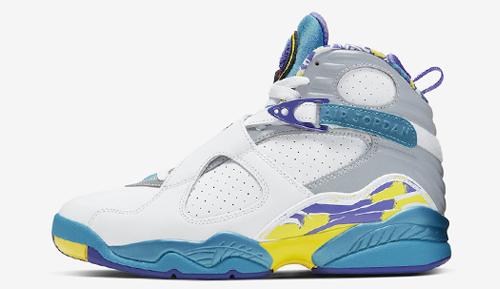 Jordan release dates July Jordan 8 WMNS