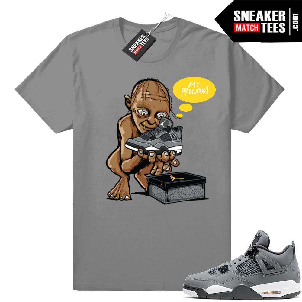Jordan retro 4 Cool Grey shirts