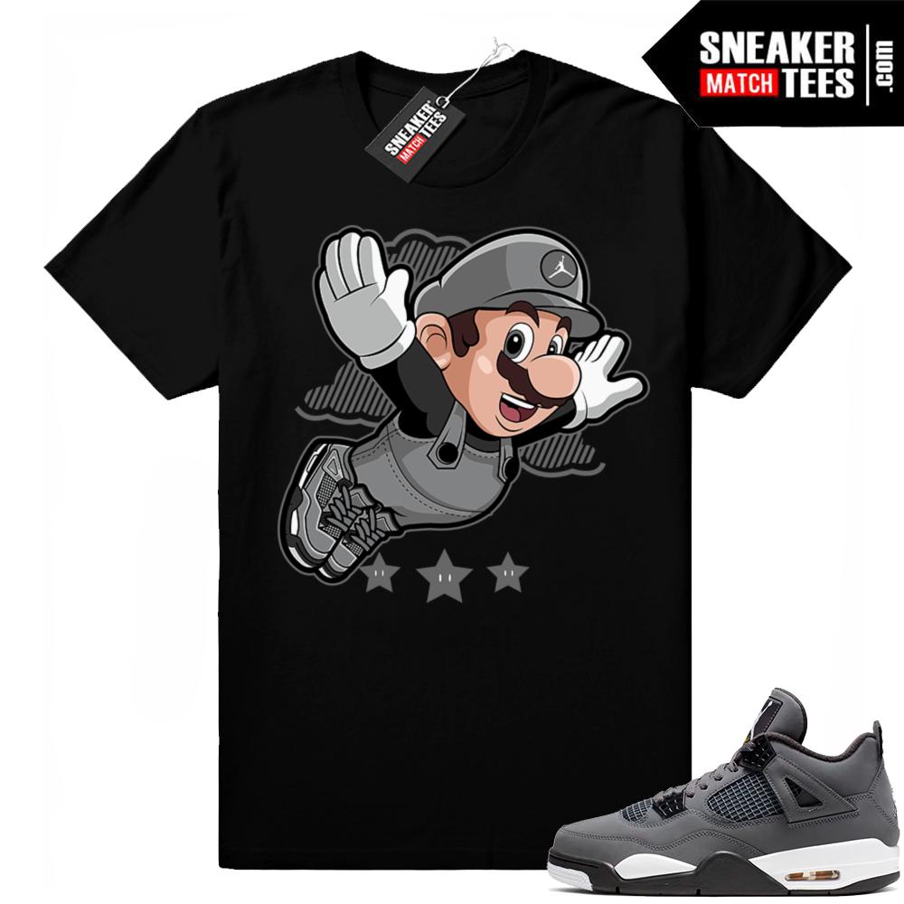Jordan shirt Cool Grey 4s match