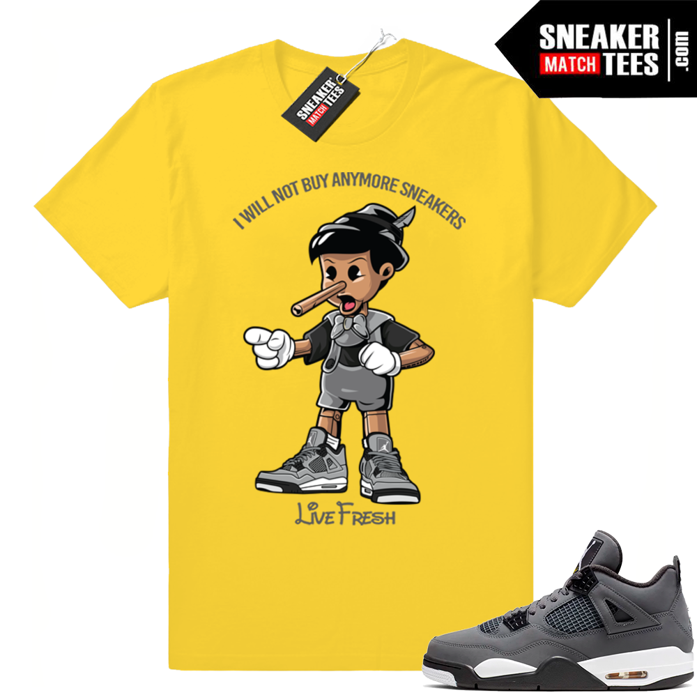 Match Cool Grey 4s tees