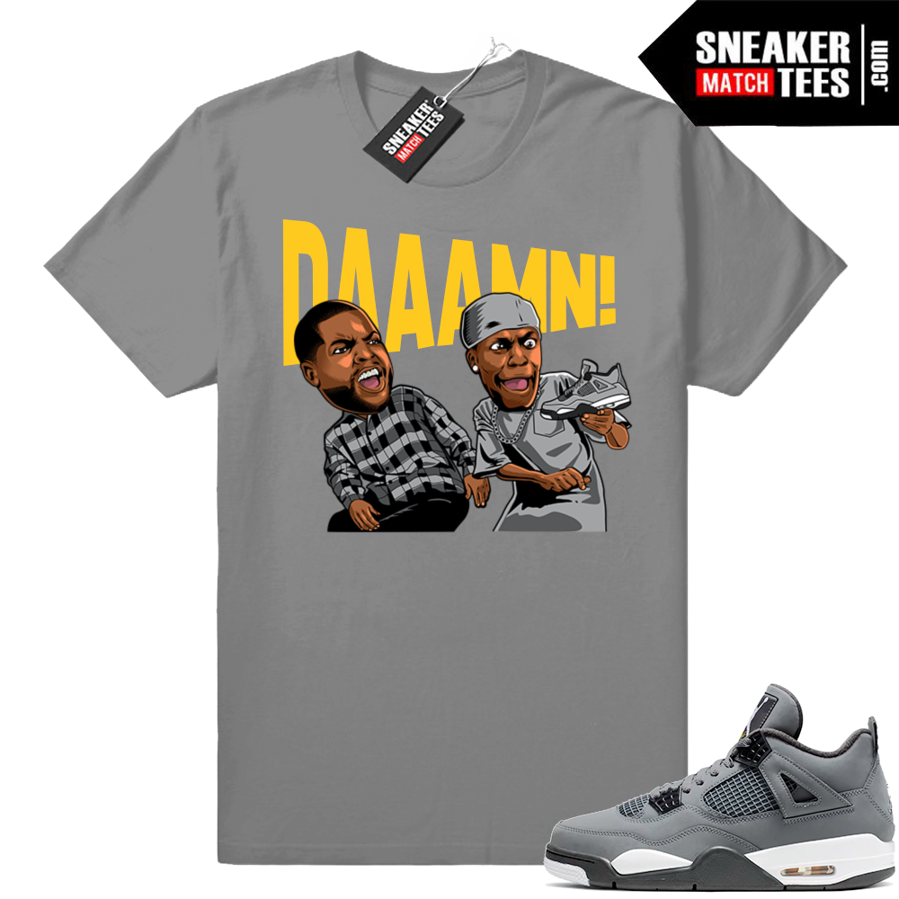 Match Sneaker tees Cool Grey 4
