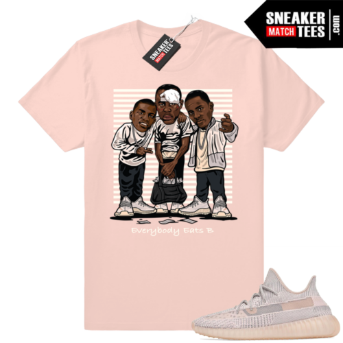 Pink Yeezy Synth 350 sneaker tees