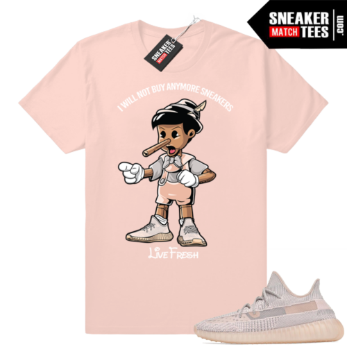 Pink Yeezy Synth shirts
