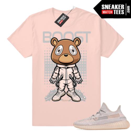 Pink Yeezys shirts match