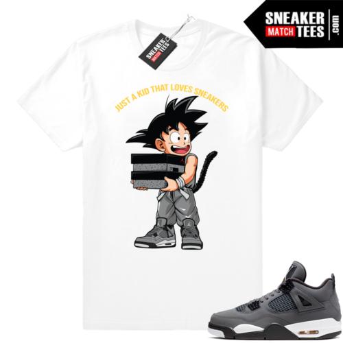 Shirts Jordan 4 Cool Grey