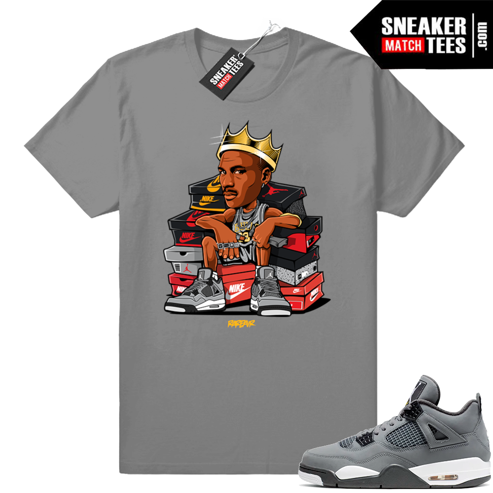 Shirts Jordan Cool Grey 4s