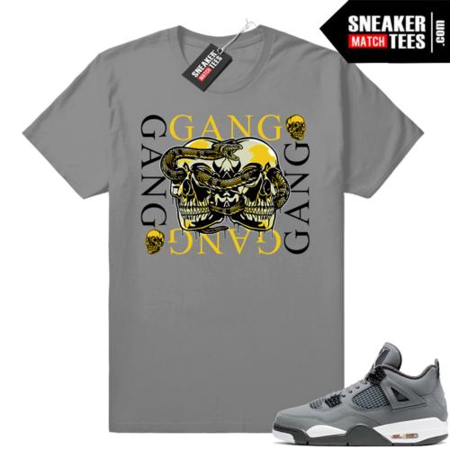 Sneaker Match Cool Grey 4s jordans
