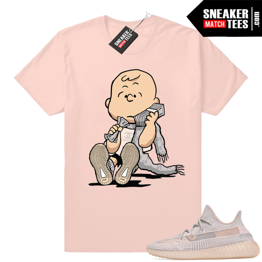 Sneaker Match Yeezy Synth tees