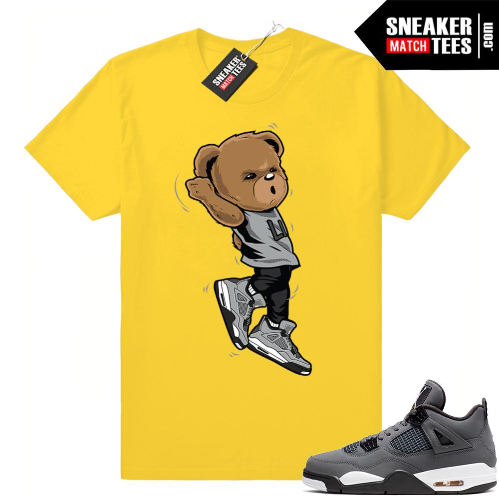 Sneaker shirt match Cool grey 4s