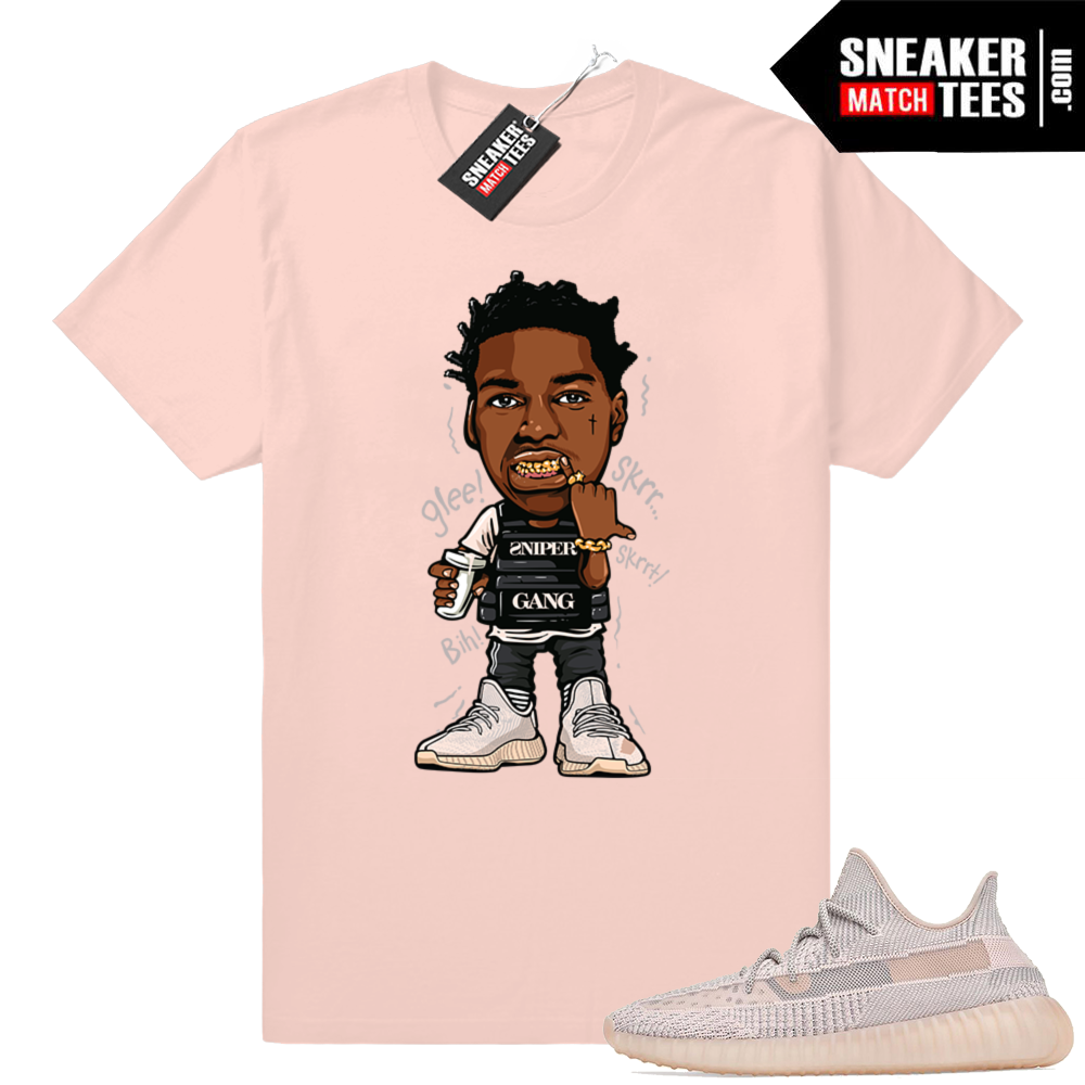Synth Yeezy shirt sneaker match