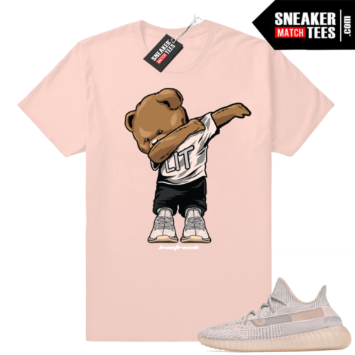 Tees match Yeezy sneakers Synth