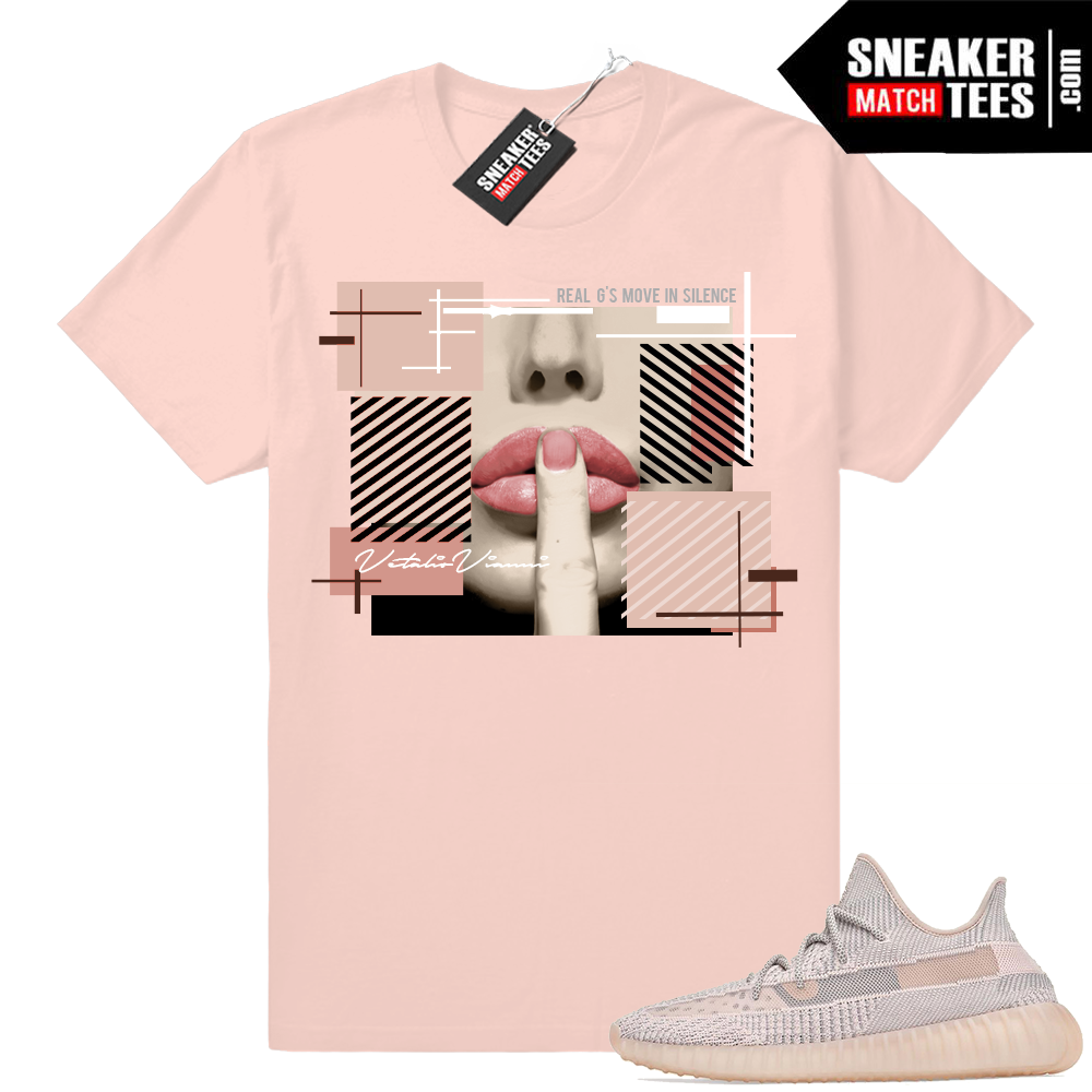 Yeezy 350 Synth sneaker match shirts