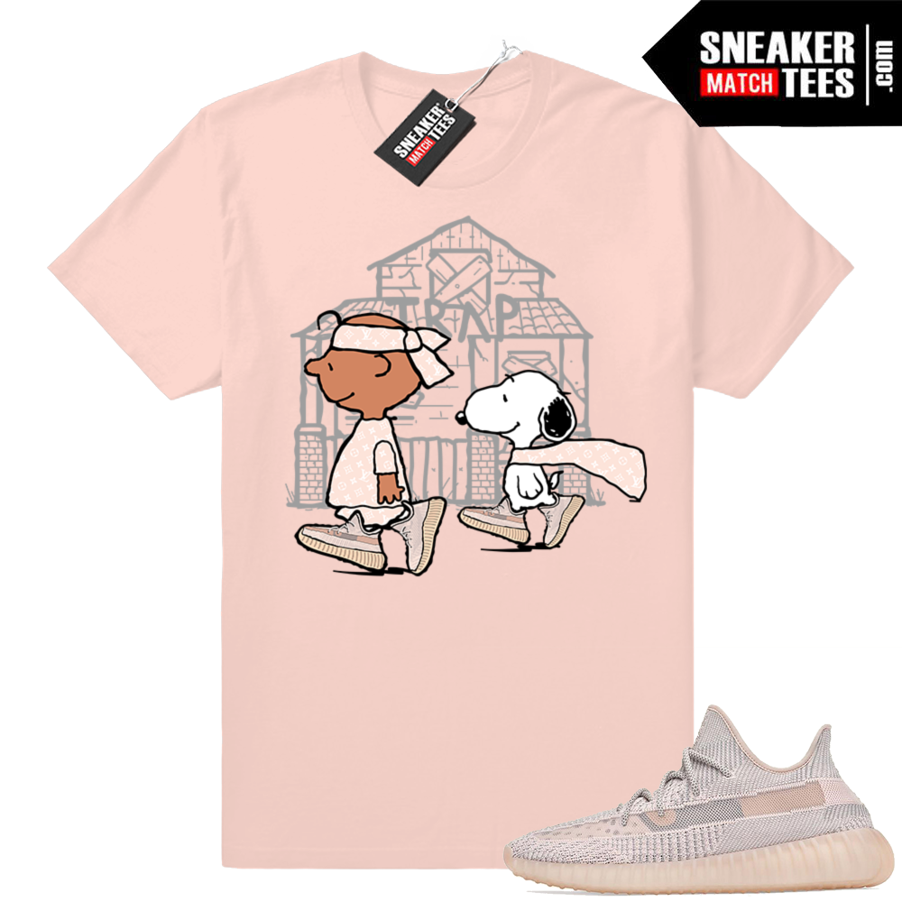 Yeezy 350 Sythn Snoopy Trap House Tee