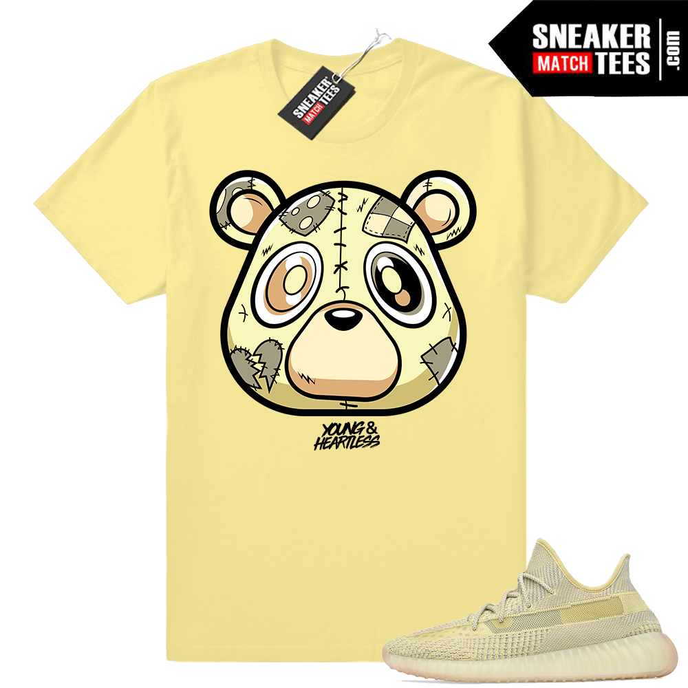 Yeezy Antlia Young & Heartless Bear logo tee