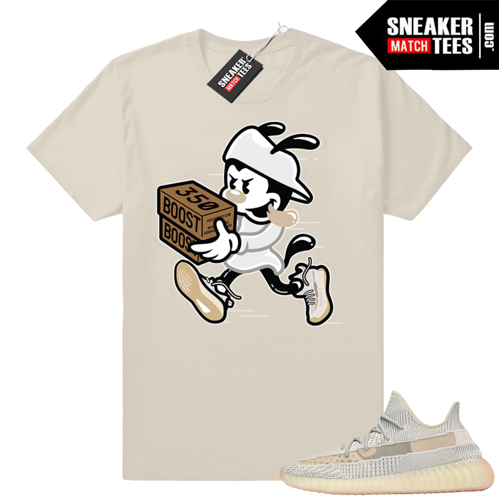 Yeezy Boost 350 V2 Lundmark Double up t-shirt