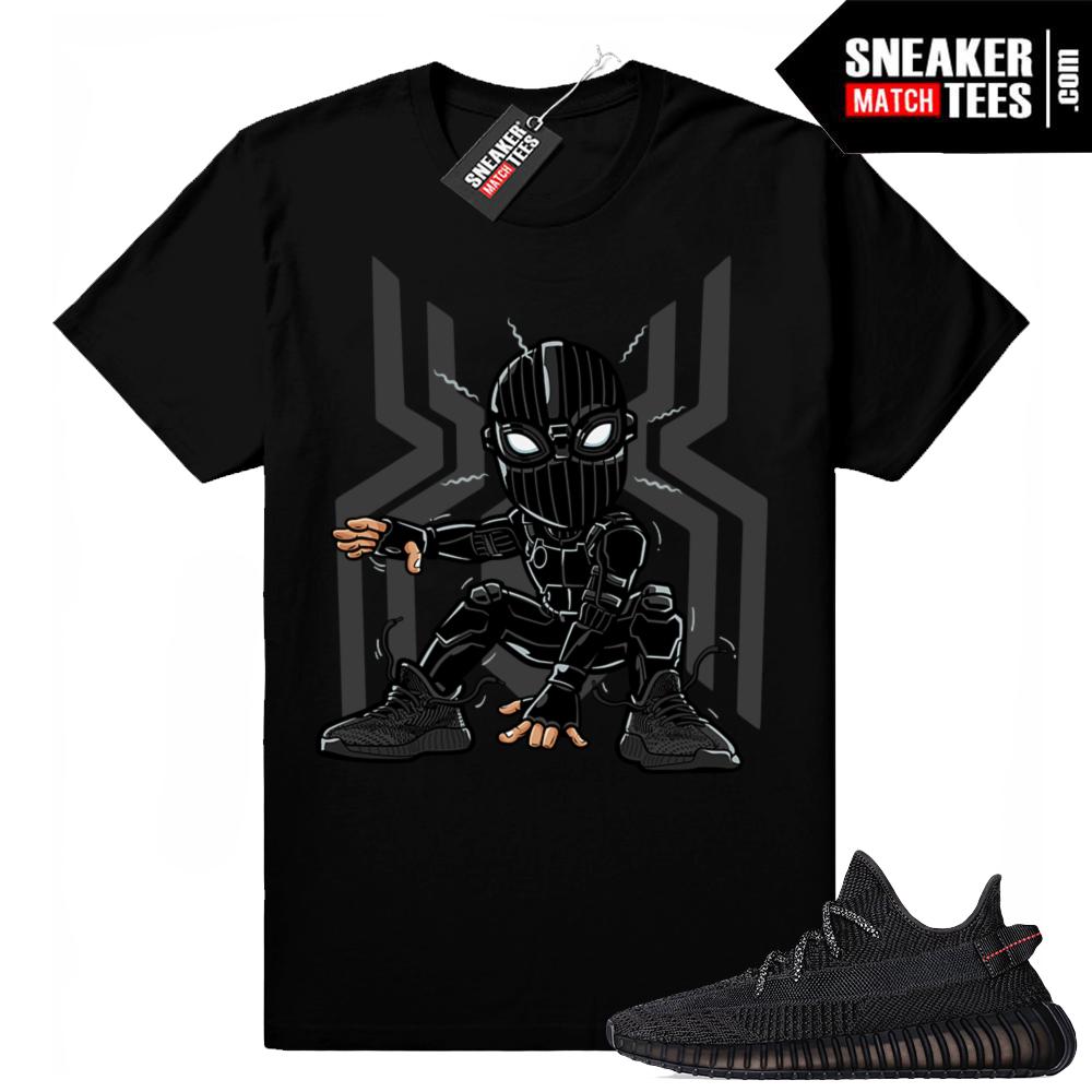 Yeezy Boost Black Shirt match