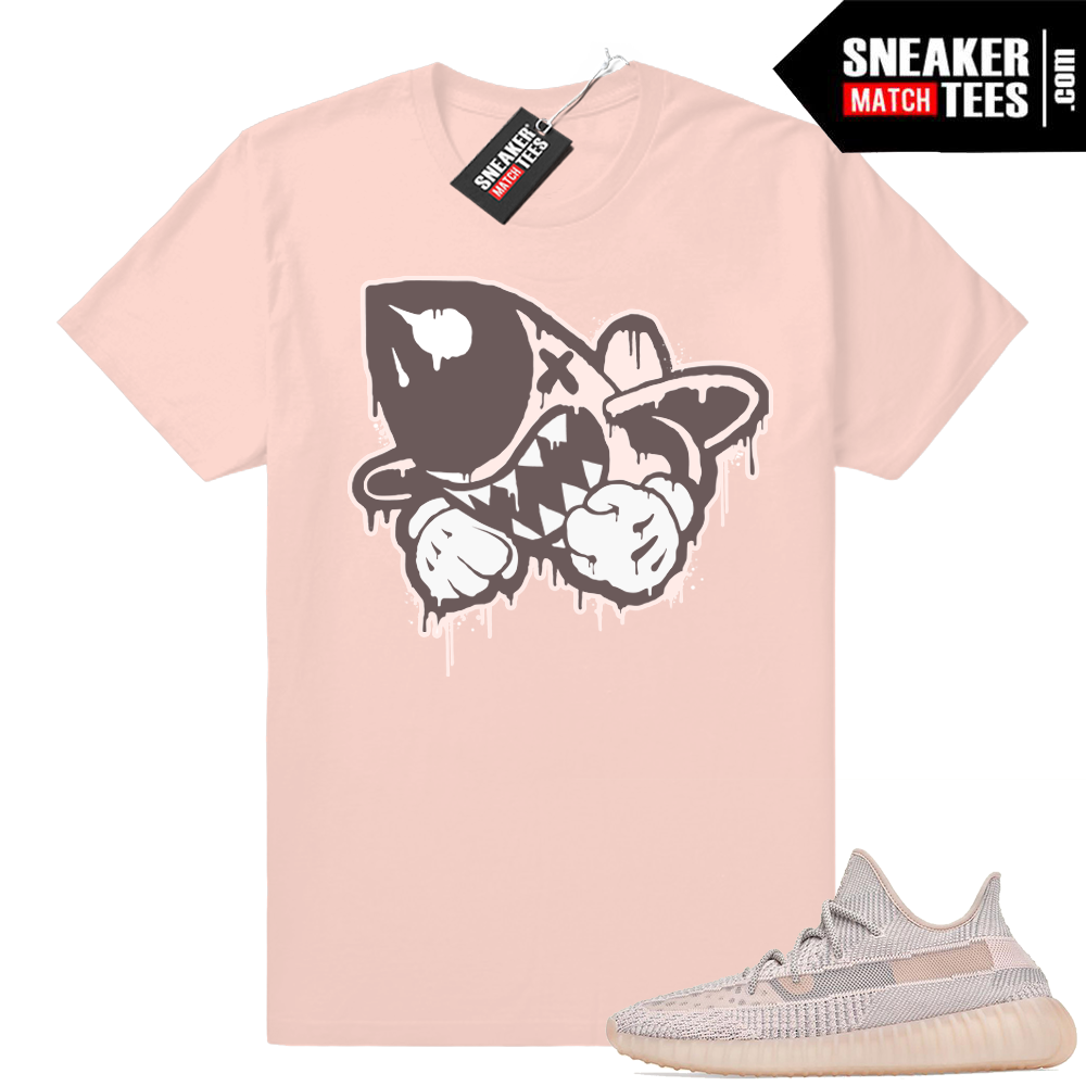 Yeezy Sneaker shirts Synth Bruiser logo