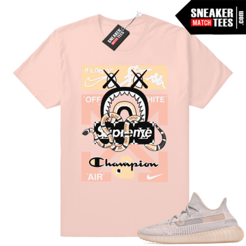 Yeezy Synth Sneaker Match Tees