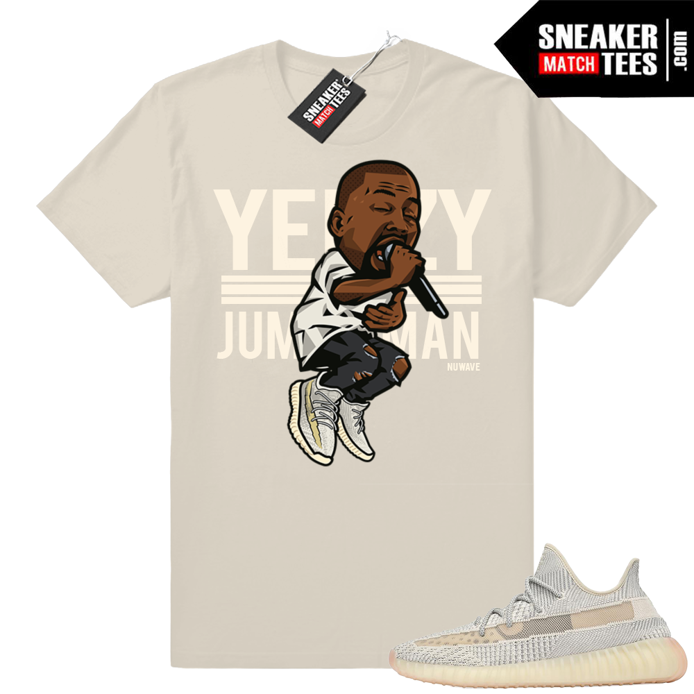 Yeezy over Jumpman shirt Lundmark 350 V2