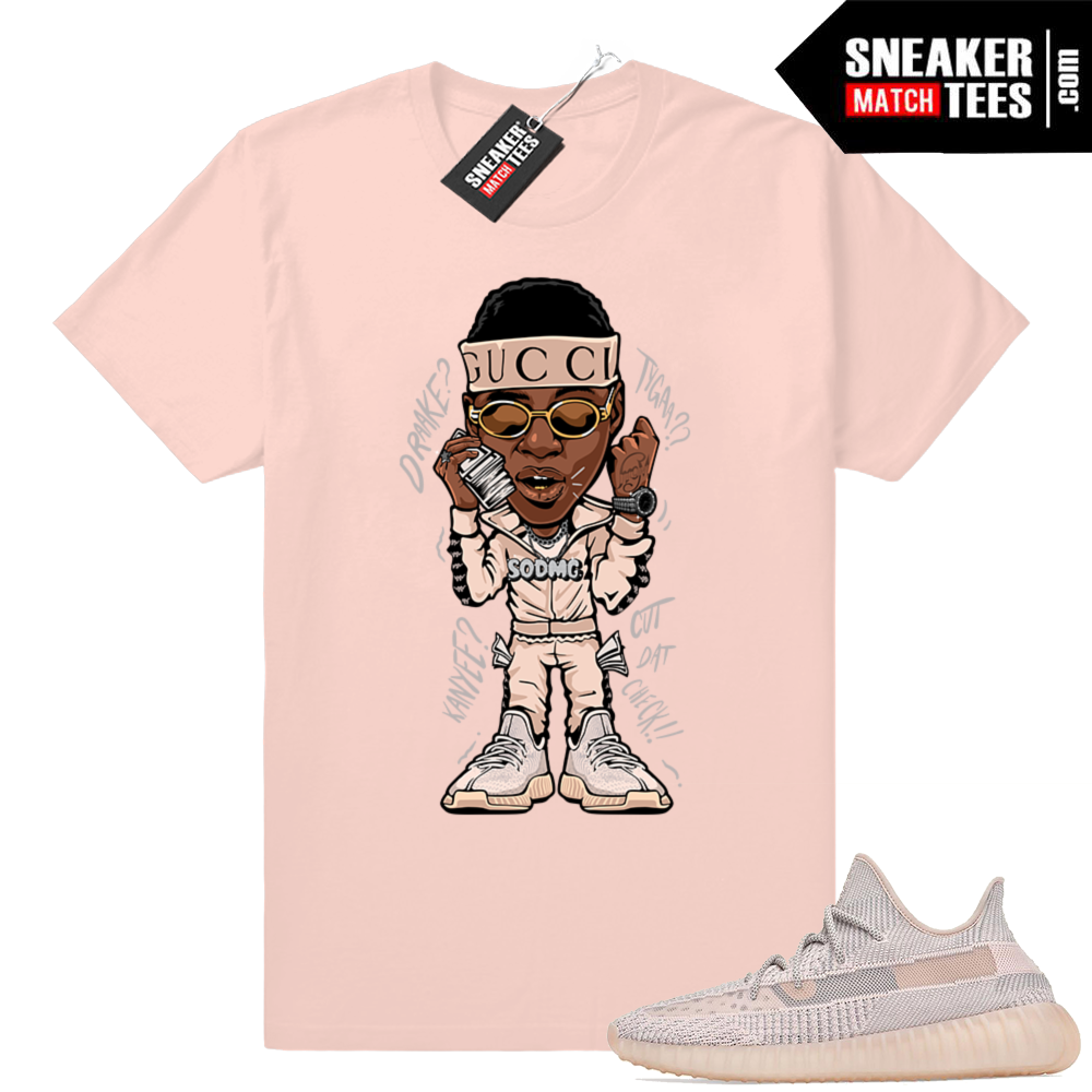 Yeezy shirt Synth 350 match