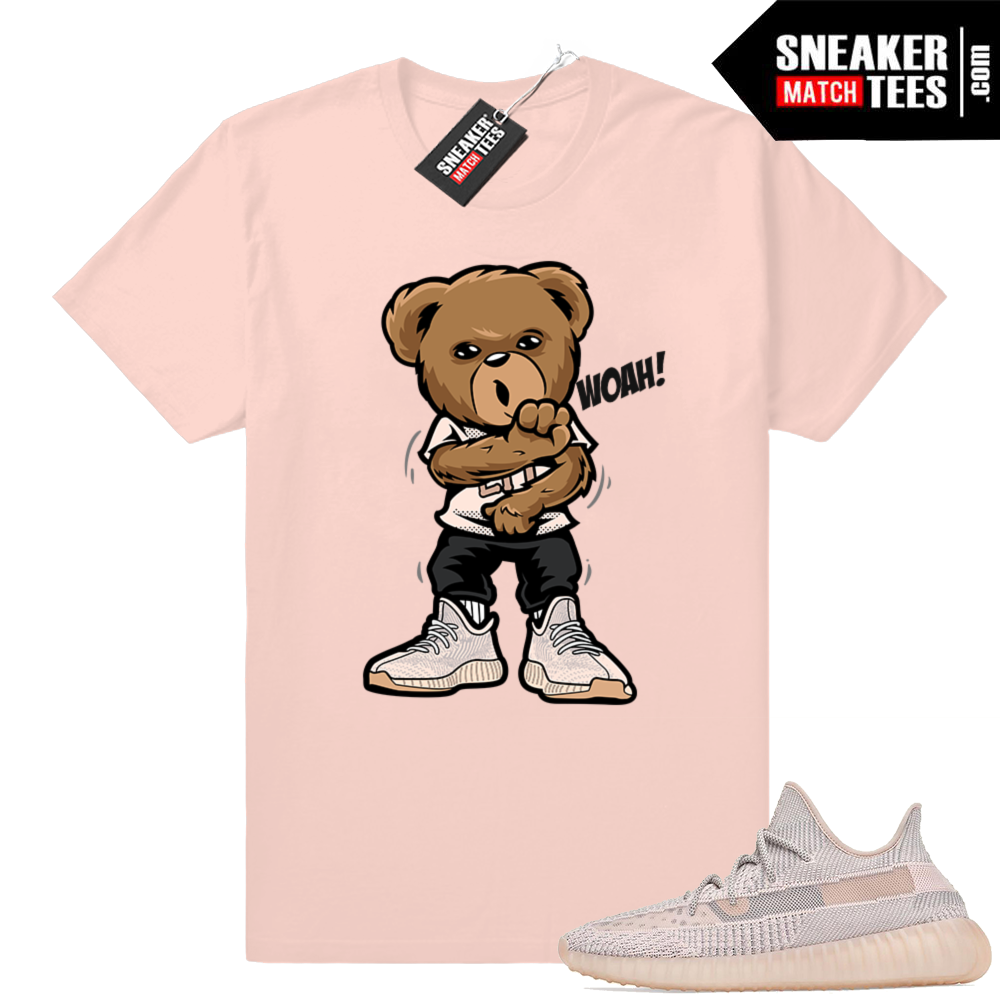 Yeezy shirt match Synth 350 V2