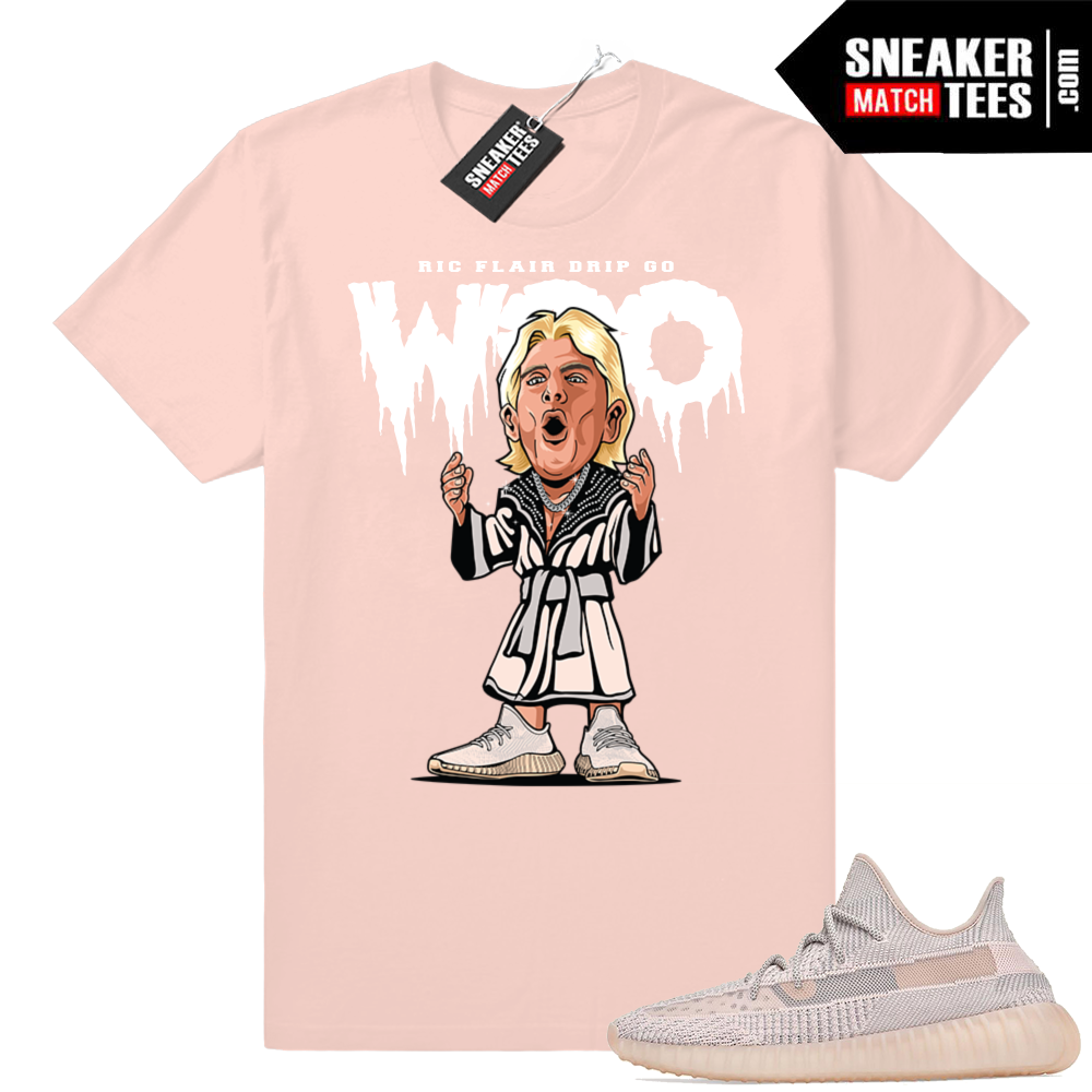 Yeezy sneaker match tees Synth