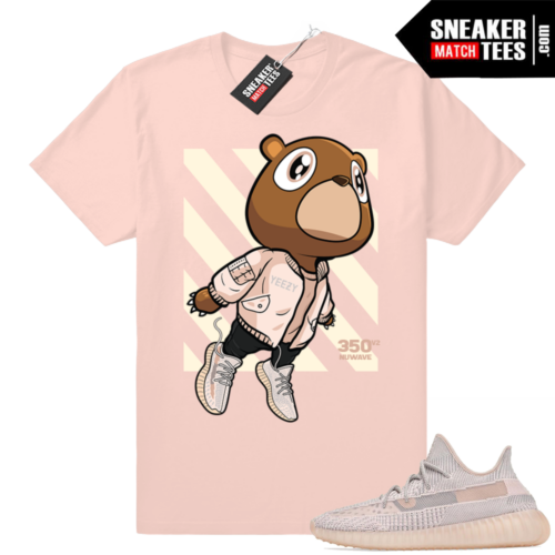 Yeezy sneaker matching Synth tees