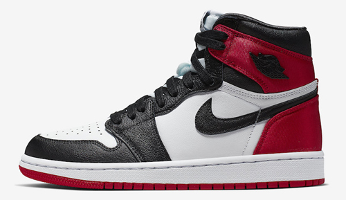 Jordan release dates Aug Black toe Satin 1s