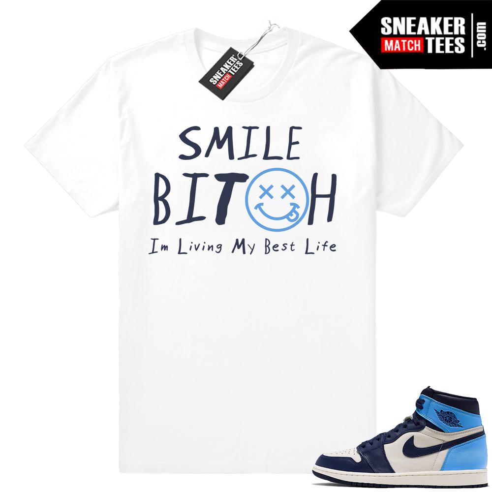 Air Jordan 1 shirts UNC