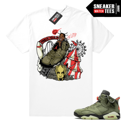 Cactus Jack 6s shirts