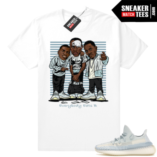Cloud White Sneaker tees Yeezy Boost