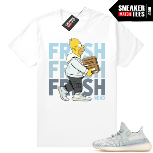 Clould White Yeezy 350s shirt
