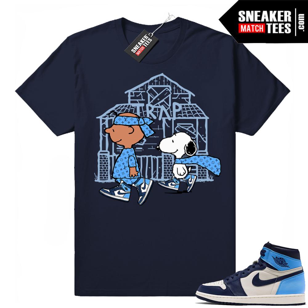 Jordan 1 UNC matching shirt