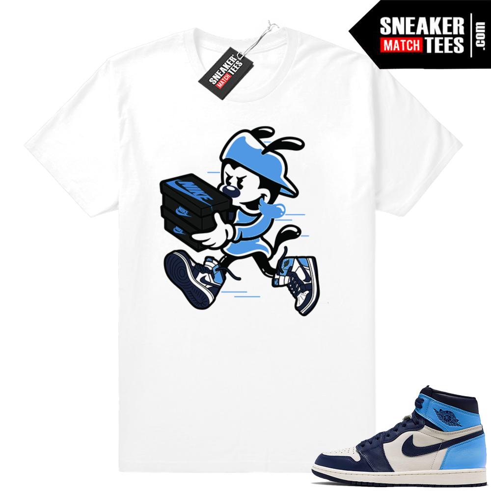 Jordan 1 UNC shirts