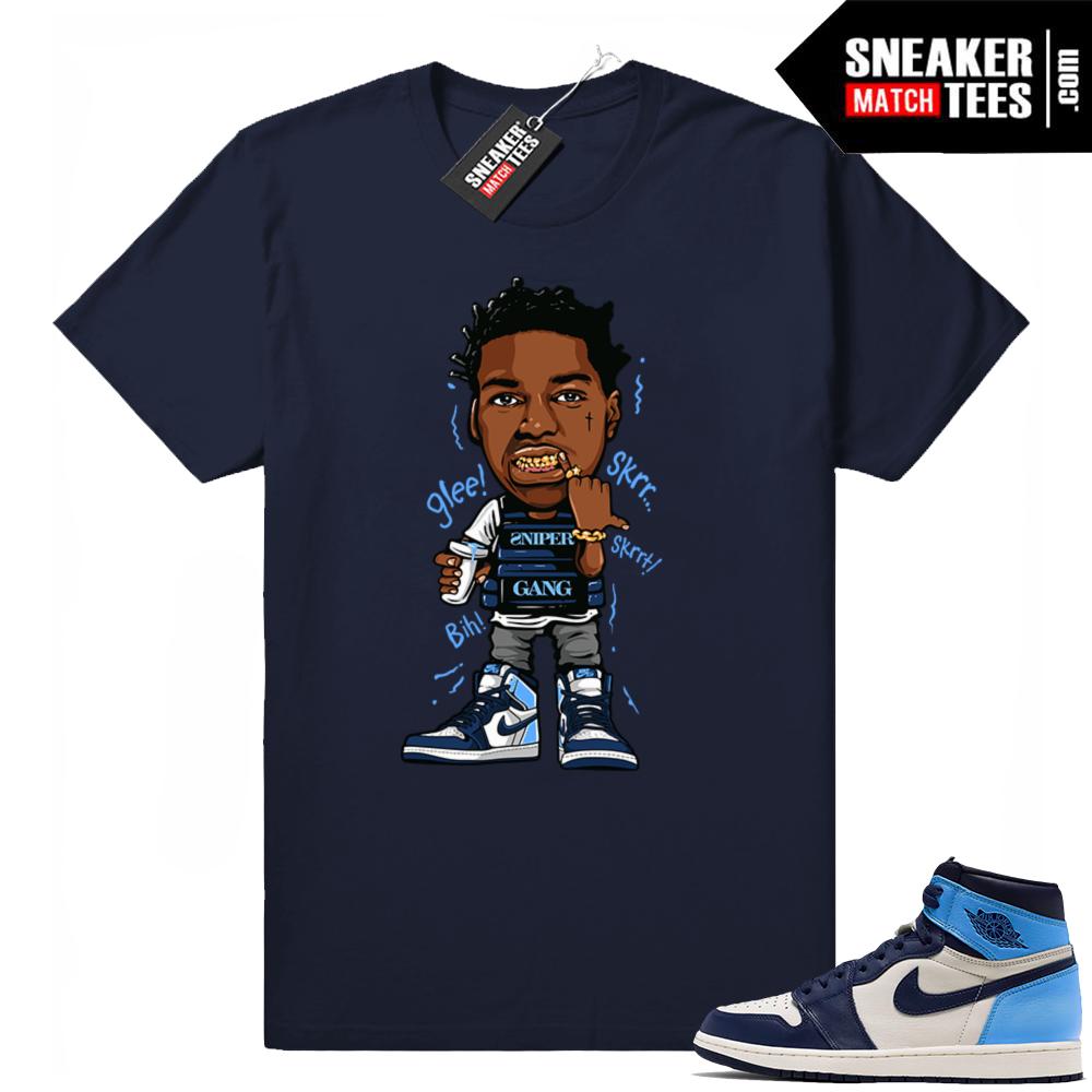 Jordan match sneakers UNC 1s