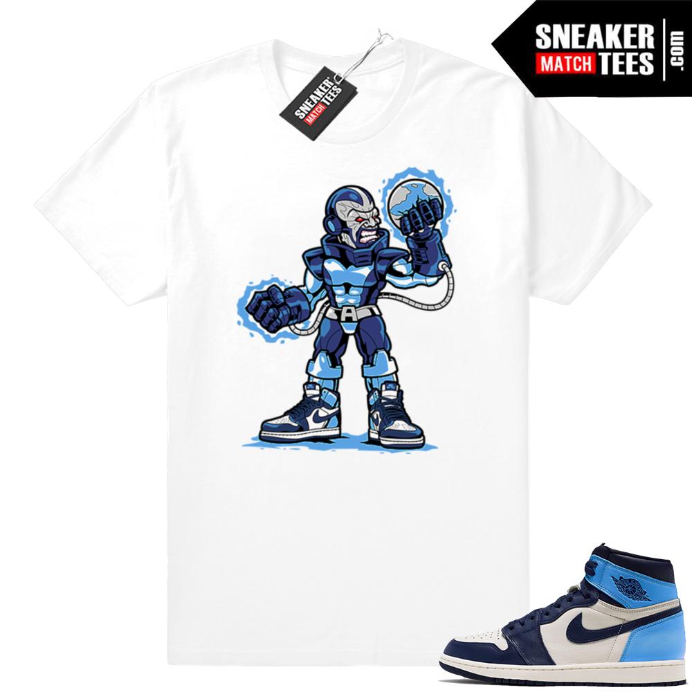 Jordan shirt UNC 1s
