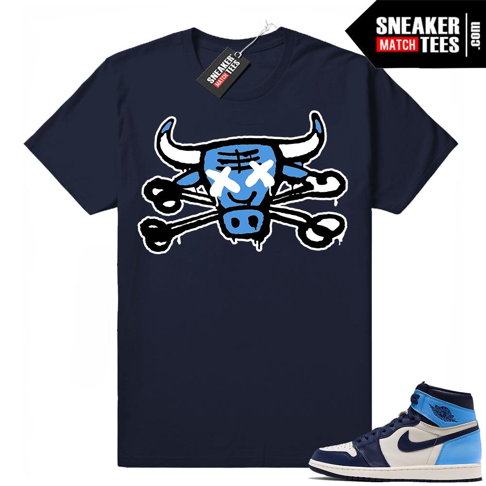 Jordan shirts match Obsidian 1s