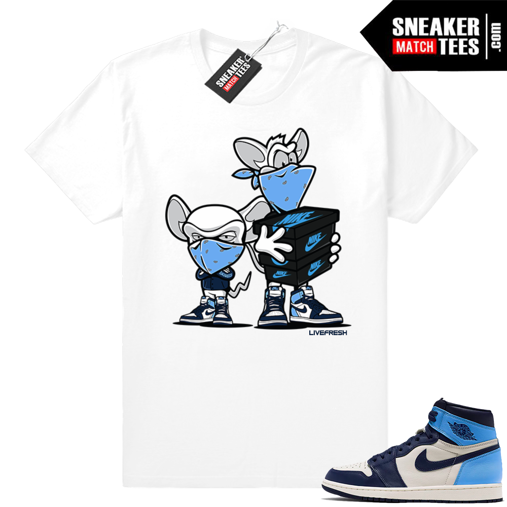 Jordan sneaker tees UNC 1s