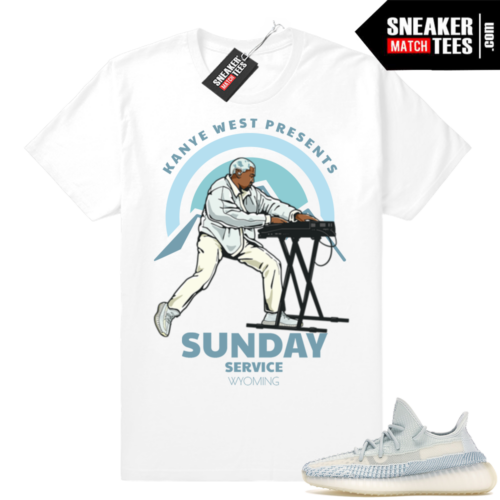 Kanye West Sunday Service Cloud White Yeezy tee