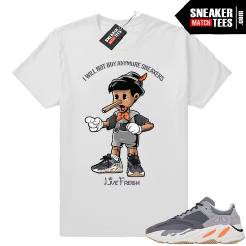Magnet Yeezy Boost 700 sneaker shirt