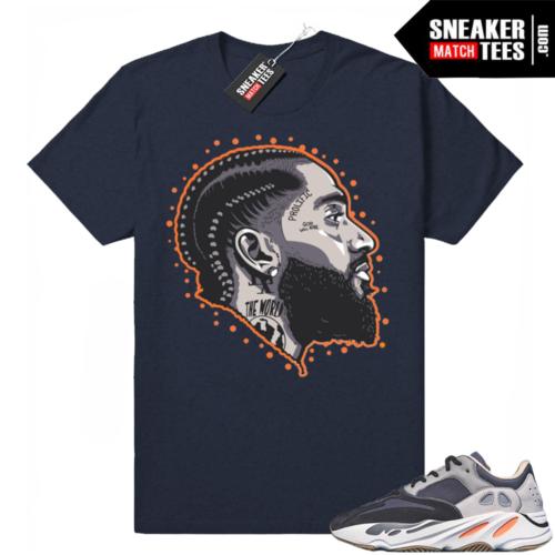 Sneaker Match Magnet 700 yeezy tees