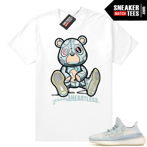 Sneaker Match Yeezy Cloud White shirts