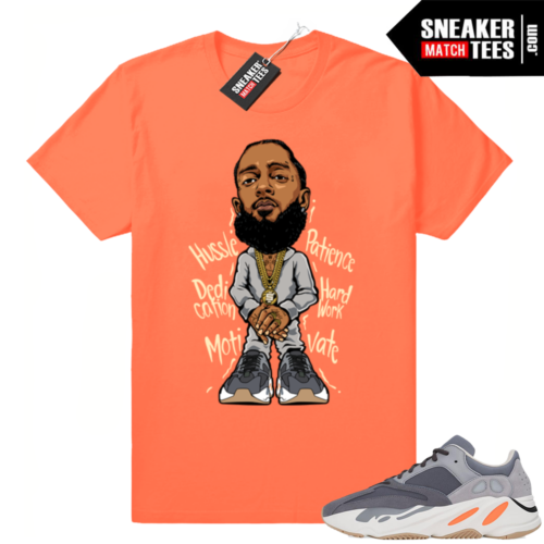 Sneaker tee shirt Magnet 700 Yeezys