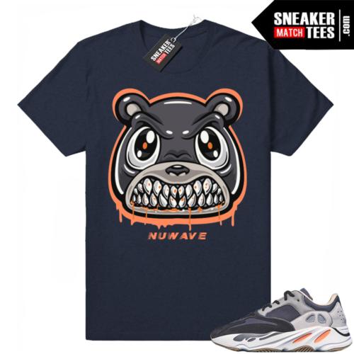Sneaker tees Magnet 700 Yeezys