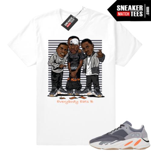 Sneaker tees match Yeezy Magnet 700