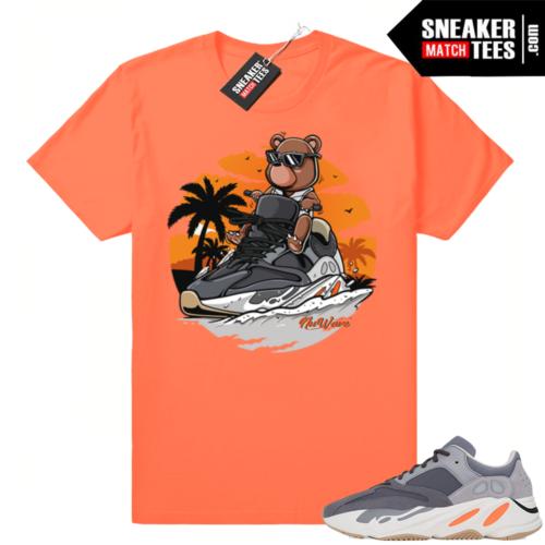 Sneaker tees matching Magnet Yeezy 700