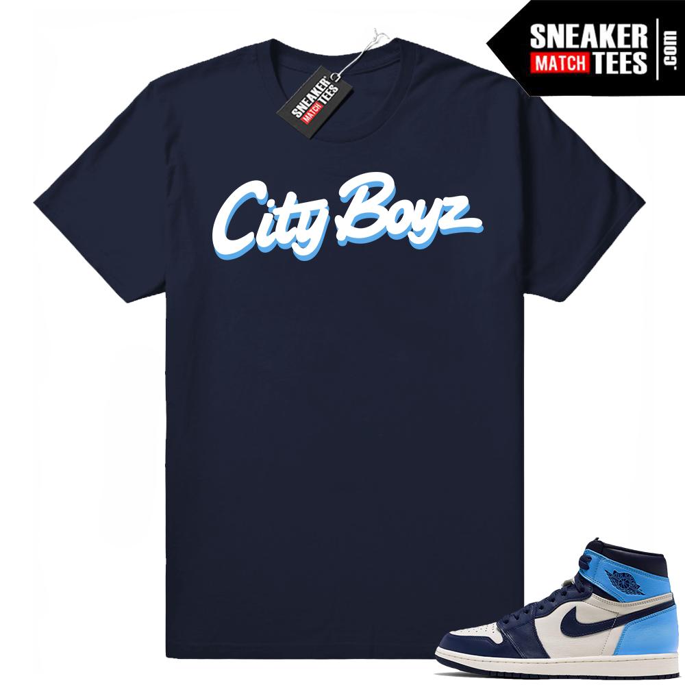 UNC 1s City Boyz tee
