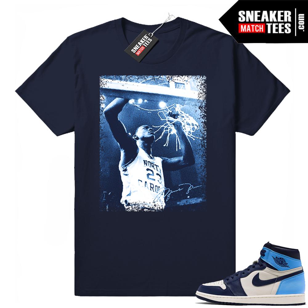 UNC 1s MJ tee shirt