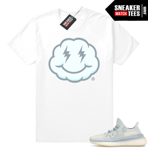Yeezy 350 Cloud White sneaker tees