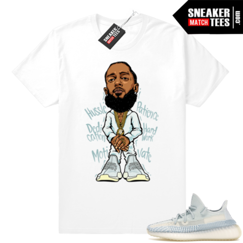 Yeezy Boost 350 Cloud White shirt